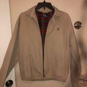Tan/ beige Polo Ralph Lauren jacket